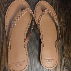 Abercrombie & Fitch leather sandals